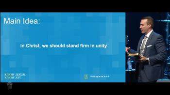 View thumbnail for Stand Firm in Unity - Philippians 4:1-3