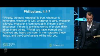 View thumbnail for Practical Steps to Peace: Part 2 - Philippians 4:8-9